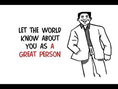 Make Your Personal Profile Known By The World! Use Whiteboard Animation ...