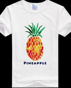 Strawberry 3D T Shirt Fresh Fruit Hip Hop Shirt Fruit Cool T Shirt