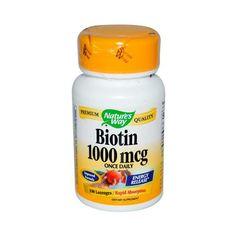 Nature's Way Biotin - 1000 Mcg - 100 Lozenges