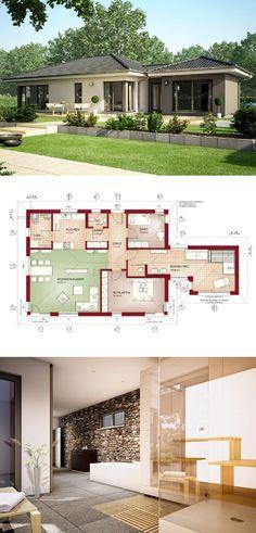 Bungalow Haus Evolution 100 V5 - Bien Zenker Fertighaus - HausbauDirekt.de