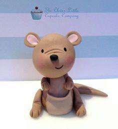 Cute Kangaroo-would be cute in clay
