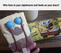 Spongebob Scare-Pants > repin if you sang it in the theme song tune