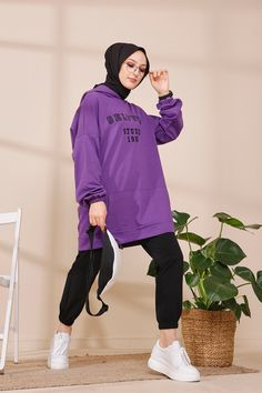 Modern Hijab Fashion, Hijab Fashion Inspiration, Muslim Fashion, Sports Hijab, Mode Ulzzang, Velvet Dress Designs, Cute Simple Outfits, Pakistani Dresses Casual, Mode Streetwear