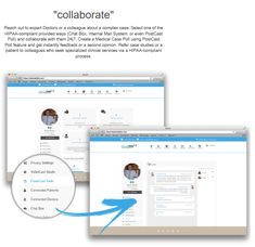 Reach out to expert Doctors or a colleague about a complex case. Select one of the HIPAA-compliant provided ways (Chat Box, Internal Mail System, or even PostCast Poll) and collaborate with them 24|7. Create a Medical Case Poll using PostCast Poll feature and get instantly feedback or a second opinion. Refer case studies or a patient to colleagues who seek specialized clinical services via a HIPAA-compliant process.