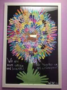 This was a gift from our whole school for Week of the Young Child #pinterestsuccess #WOYC16