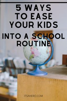 School Routines, Parent Resources, Parenting Ideas, Kids Health, Kids Education, 5 Ways, Helpful Hints, Back To School, Happiness