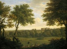'View of Copped Hall in Essex, from the Park', George Lambert, Francis Hayman, 1746 | Tate