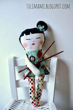 Geisha doll by Tulimami