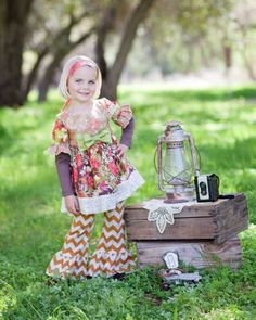 Giggle Moon Fall Blossom Tutu Dress & Legging Set3 Months to 8 YearsNow in Stock