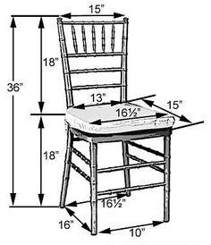 chiavarri chair dimensions chair shapes banquet chair sizes folding chair sizes chiavari chair