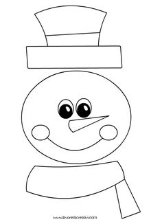1 million+ Stunning Free Images to Use Anywhere Christmas Door Decorations, Snowman Crafts, Christmas Sewing, Primitive Christmas, Christmas Crafts For Kids, Xmas Crafts, Felt Christmas, Christmas Projects, Snowman Coloring Pages