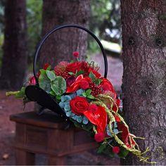 Church Flower Arrangements, Floral Arrangements, Casket Sprays, Grave Decorations, Cemetery Flowers, Arte Floral, Fall Flowers, Ikebana, Funeral