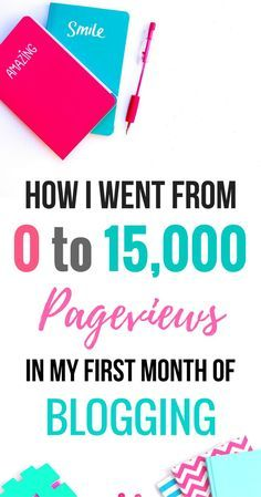 How I got traffic to my blog when I first started blogging | Tips on how to get page views on your blog and get people to read your blog!