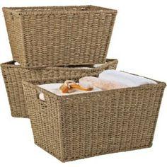 Set of 3 Large Seagrass Storage Baskets - Natural, Size H26, W48, D36cm. PD Global http://www.amazon.co.uk/dp/B00KGD6RGC/ref=cm_sw_r_pi_dp_Zge-ub1361HZ8