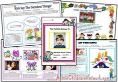 Portfolios have become a popular form of documentation used to give families, a keepsake at the end of the year. It is usually a folder containing sam...