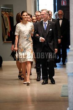 Crown Princess Victoria & Prince Daniel attended the presentation of the Crafoord Prize in Polyarthritis