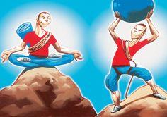 The Smackdown: Yoga Vs. Pilates