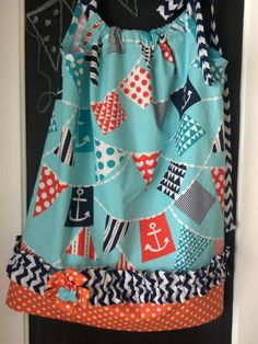 MIchael Miller fabrics Nautical Bunting Summer by Corrinabella, $35.00
