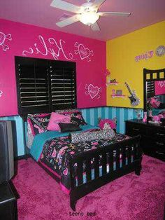 hannah has this bedset cute idea for paint
