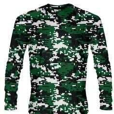 Youth Camouflage Marine Corps Long Sleeve Shirts Gold Logo Marine Shirts Youth Black