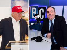 Alex Salmond has challenged Donald Trump to a radio debate. Picture: TSPL
