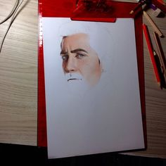 Jake Gyllenhaal Pencil Drawing 2 of 3 on We Heart It