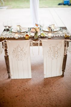Mrs + Mr chair // event design by Sitting in a Tree Events, photo by Annie McElwain