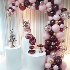 Quinceanera Party Planning – 5 Secrets For Having The Best Mexican Birthday Party Balloon Garland, Balloon Decorations, Birthday Party Decorations, Wedding Decorations, Moms 50th Birthday, Birthday Parties, Deco Ballon, Decoration Evenementielle, Gold Confetti Balloons
