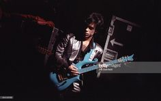 Prince performs at Bunker's Music Bar & Grill in Minneapolis, Minnesota on April 4, 1988.