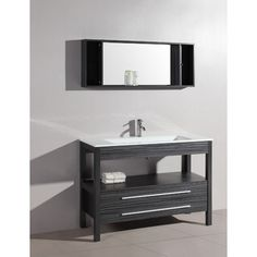 "Found it at Wayfair - Contemporary 48"" Single Bathroom Vanity Set with Mirror"