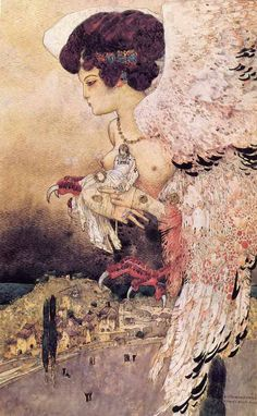 La harpyie. [1907] Mossa