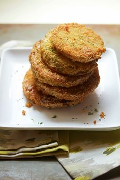 Fried Green Tomatoes | Grandbaby Cakes