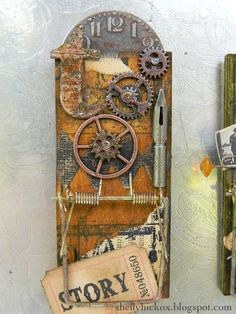 Altered Mouse Trap note holder