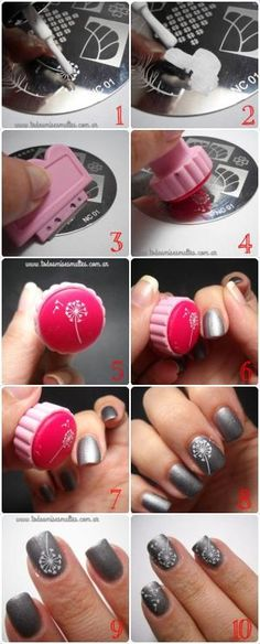 17 super easy nail designs diy tutorials diseos de uas nailz craze stamping plates i have thesed i solutioingenieria Images