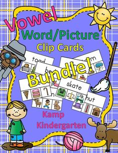 Engaging Literacy Centers for Your Little Learners!  These cards may be used…