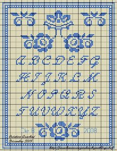 Esquemas de ponto cruz - 104535380537122969703 - Álbuns da web do Picasa