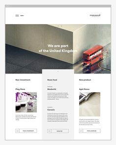 Paradyż UK | #simple #webdesign #grid