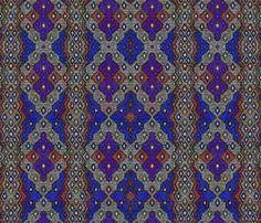 ikat sketch toronto fabric by glimmericks on Spoonflower - custom fabric