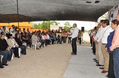 El presidente municipal, José Elías Leal, dijo que gracias al presidente Enrique Peña Nieto y al Gobernador Egidio Torre Cantú, habrá mejor calidad de vida en la colonia Unidad y Esfuerzo.