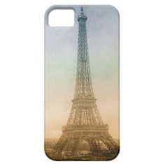 The Eiffel Tower In Paris iPhone 5 Cases
