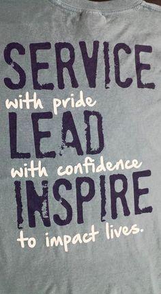 Loving these shirts! leadership shirts #screenprinting #ndesigns #design