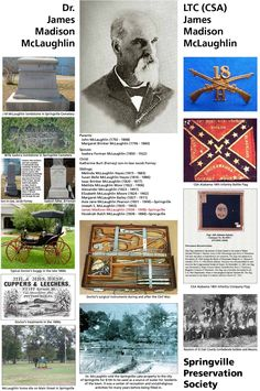 Springville History Collage by Springville Preservation Society