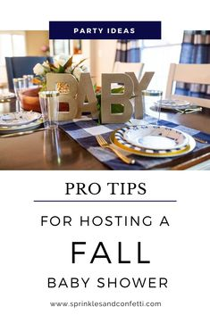 Check out a few helpful tips to host a special fall baby shower for the new parents to be. This navy & gold baby shower is full of simple details that make the celebration special without a lot of unnecessary decor. Baby Shower Fall, Gender Neutral Baby Shower, Fall Baby, Baby Boy Shower, Baby Shower Party Supplies, Baby Shower Games, Baby Shower Parties, Indian Baby Showers, Navy Baby Showers