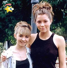 Jessica and Beverley Celebrity Beauty, Celebrity Babies, Mackenzie Rosman, Tv Show Family, Beverley Mitchell, Good Morals, Vampire Diaries Memes, Seven Heavens, 7th Heaven