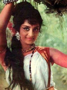 Saira Banu. She's like the Audrey Hepburn of Bollywood