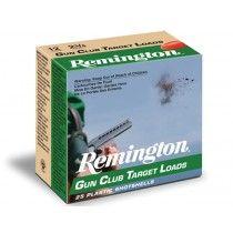 """Remington GC12 Gun Club Target Loads 12GA 2 3/4"""" 1200FPS"""