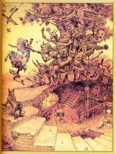 "Кирилл Челушкин «Японские сказки» 1994 | ""Картинки и разговоры"""