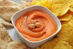 humus pimiento asado