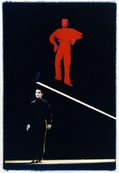 Robert Wilson's production of 'Dr Faustus Lights of Lights'