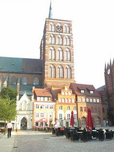 Stralsund  - Blick vom neuen Markt